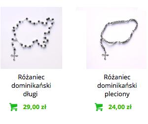 Różańce dominikańskie - kup teraz w sklepie internetowym Liturgia.pl