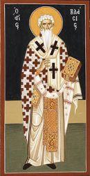Ikona św. Błażeja