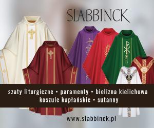 Slabbinck Polska - szaty liturgiczne, ornaty, alby, koszule kapłańskie